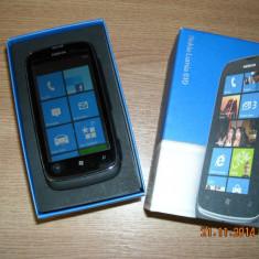 Telefon mobil Nokia Lumia 610, Negru, Orange - Telefon Nokia Lumia 610