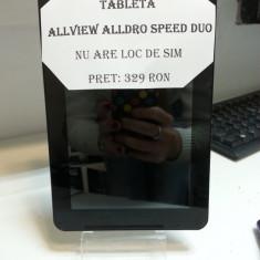 Tableta allview alldro speed duo / nu are loc de sim/ ofer incarcator