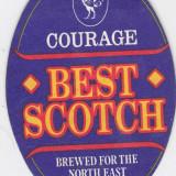 Cartonas de colectie - Suport de pahar / Biscuite BEST SCOTCH