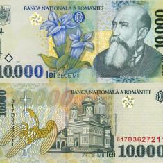 Bancnote Romanesti - ROMANIA 10.000 lei 1999 UNC!!!
