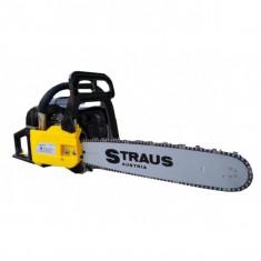 Drujba profesionala pe benzina Straus Austria 2kW, 2.7CP, lama 40cm, 2000-2300, 36-40, 31-40