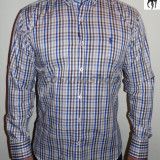 Camasi POLO RALPH LAUREN in Carouri - Slim Fit - Albastru / Roz - Model NOU !!!