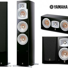 Boxe Yamaha, 81-120W - Set incinte 5.0 Yamaha format din NS-555 + NS-C444 + NS-333 sigilate la cel ma
