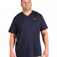 Barbati Lacoste Big S/S Jersey V-Neck T-Shirt | 100% original | Livrare cca 10 zile lucratoare | Aducem pe comanda orice produs din SUA - Bluza barbati