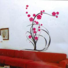 Sticker - autocolant decorativ de perete model floral