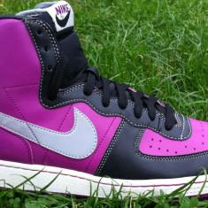 Adidasi copii Nike, Unisex, Piele naturala - Bascheti originali - NIKE TERMINATOR HIGH