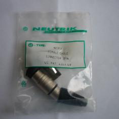 MUFE XLR NEUTRIK NC3FX