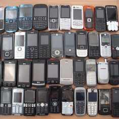 Telefon Nokia, Negru, <1GB, Neblocat, Fara procesor, Nu se aplica - Pachet Nokia: E71, 6234, C3, Asha 200, 5230, Sony C905, E51, GT405, W810
