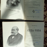 Istorie - Domnia lui Cuza-Voda ( vol. 1+2 /an 1903)-A.D.Xenopol
