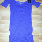 Bluza pentru colanti Terranova - Bluza dama, Marime: M, Culoare: Violet, M, Maneca scurta, Club