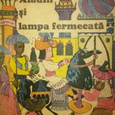 ALADIN SI LAMPA FERMECATA - Carte de povesti
