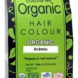 Vopsea de par henna organica