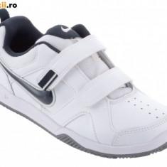 Noi! Adidasi piele originali, marca NIKE Lykin, baieti marimea 29.5 - Adidasi copii Nike, Culoare: Alb, Unisex