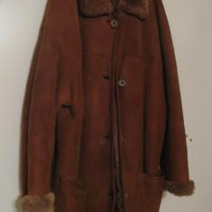 Cojoc de blana (dama)(mar.L) - Palton dama, Marime: L, Culoare: Maro
