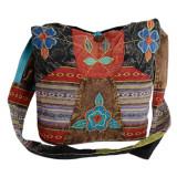 Geanta din bumbac cu motive populare - NEPAL - Geanta handmade