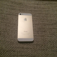 Schimbare carcase iPhone 5S Gold, Silver Gray Apple