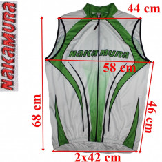 Echipament Ciclism, Tricouri - Tricou ciclism, fara maneci Nakamura, barbati, marimea L !!!PROMOTIE2+1GRATIS!!!