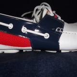 VAND PANTOFI PIERO AVENTURA - Pantofi barbati, Marime: 42, Culoare: Alb, Piele naturala