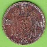Carol II. 20 lei 1930 cornul abundentei - Moneda Romania