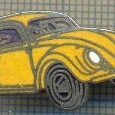 1141 INSIGNA - AUTOMOBILISM -CELEBRUL AUTOTURISM BROSCUTA VOLKSWAGEN -starea ce se vede.