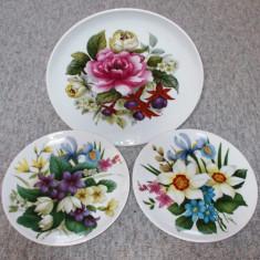Farfurie - decorativa / de colectie - portelan Bavaria - Kaiser - 1983, Farfurii