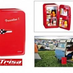 Lada frigorifica auto - Mini frigider Trisa Elvetia Frescolino 1 (roşu)