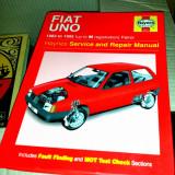 Fiat Uno 1983 -1995 - Manual original Haynes de reparatii si service - Carti auto