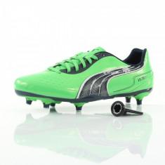 Pantofi fotbal v5.11 SG - Ghete fotbal Puma, Marime: 45, Culoare: Verde