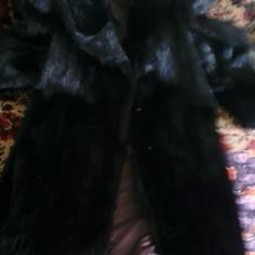 Haina de blana de marmota naturala (noua) - Palton dama, Din imagine, XL