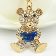 Breloc Dama - Breloc chei ursulet( Cadoul perfect pentru ea)