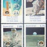 SRI LANKA 1989 - COSMONAUTICA 4 VALORI, NEOBLITERATE - E2705