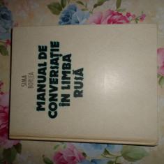 Manual de conversatie in limba rusa-Sima Borlea