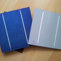 100 Celule fotovoltaice policristaline (celule solare) 3.95W, 156x156mm
