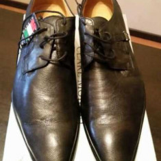 Pantofi Clare Morris originali Italia, noi, marimea 45. - Pantofi barbati, Gri