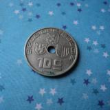 JN. 10 centimes 1938 Belgia