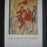 ARTA ROMANICA DIN CATALONIA * PICTURI PE LEMN
