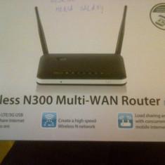 Wi-Fi N300 Multi-WAN Router DWR-116 (D-Link), Port USB, Porturi LAN: 4, Porturi WAN: 1