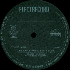 Tony Bolton - Rock And Roll Music (Vinyl) - Muzica Rock & Roll electrecord, VINIL