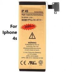 Baterie telefon, iPhone 4/4S, Li-ion - Baterie 2680 mah pentru iPhone 4s + folie protectie cadou