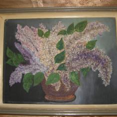 Tablou vechi, pictura in relief,