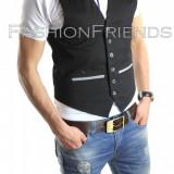 Vesta tip ZARA vesta eleganta casual - vesta barbati - vesta slim fit - cod 4108, Marime: S, M, L, XL, Culoare: Din imagine