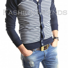 Cardigan tip ZARA - pulover barbati - pulover slim fit STOC LIMITAT - cod 4113
