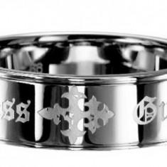 Inel inox, 57 - 67 - Inel GUESS UMR81001 nou cu eticheta in cutie gr. 62/19, 7mm