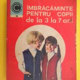 IMBRACAMINTE PENTRU COPII DE LA 3 LA 7 ANI Croitorie Georgeta Stoean - Carte design vestimentar
