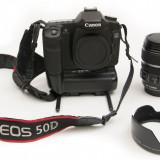 Canon 50D body + Grip + Declansator + Ob. 17-85 IS USM - DSLR Canon, Kit (cu obiectiv)