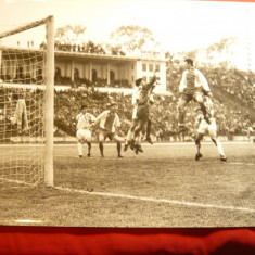 Fotografie Fotbal - Meci International Dinamo, dimensiuni= 24x18 cm