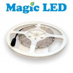 Banda 60 LED-uri Alb Cald IP20 MagicLED - Bec / LED