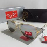 Ochelari de soare Ray Ban - Ochelari De Soare UV400 RAY BAN Aviator RB3044 Toc+Laveta+Cutie cadou OSR-120