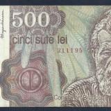 ROMANIA 500 LEI 1991 Aprilie [10] VF, An: 1991