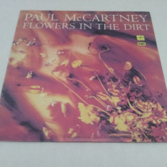 DISC VINIL - PAUL MCCARTNEY - FOWERS IN THE DIRT - Muzica Rock emi records, Casete audio
